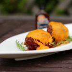 sucuk meatballs mit bbq sauce