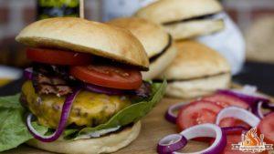 American Beef Burger aus der Grillbox von HelloFresh